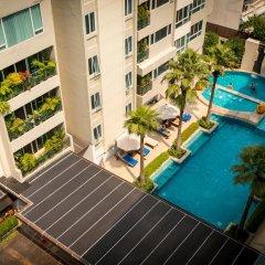 Отель Legacy Suites Sukhumvit by Compass Hospitality Таиланд, Бангкок - 2 отзыва об отеле, цены и фото номеров - забронировать отель Legacy Suites Sukhumvit by Compass Hospitality онлайн балкон