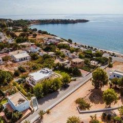 Отель Angela Studios пляж