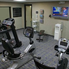 Отель Hampton Inn & Suites Houston-Medical Ctr-Reliant Park Хьюстон фитнесс-зал фото 3