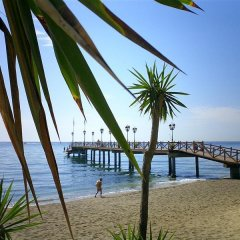 Hotel Monarque El Rodeo пляж