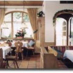 Hotel Gasthof Zur Post Унтерфёринг питание