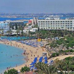 Nelia Beach Hotel пляж