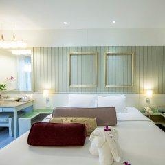 Отель Katathani Phuket Beach Resort 5* Номер Премиум с различными типами кроватей фото 4