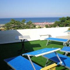 Hotel Butterfly Римини пляж