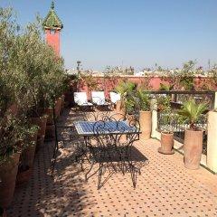 Отель Riad Harmattan Марракеш бассейн