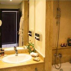 Отель Andalucia Golf Tanger Марокко, Медина Танжера - отзывы, цены и фото номеров - забронировать отель Andalucia Golf Tanger онлайн ванная фото 2