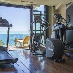 Отель Radisson Blu 1835 Hotel & Thalasso, Cannes Франция, Канны - 2 отзыва об отеле, цены и фото номеров - забронировать отель Radisson Blu 1835 Hotel & Thalasso, Cannes онлайн фитнесс-зал фото 2