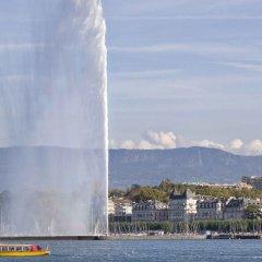 Отель ibis Geneve Aeroport Швейцария, Куантрен - отзывы, цены и фото номеров - забронировать отель ibis Geneve Aeroport онлайн приотельная территория фото 2