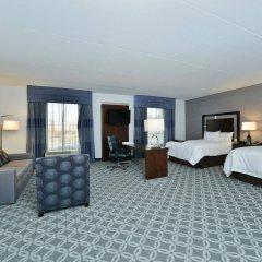 Отель Hampton Inn & Suites Columbia/Southeast-Fort Jackson комната для гостей