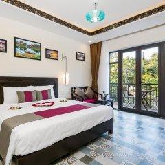 Отель Hoi An Golden Holiday Villa комната для гостей