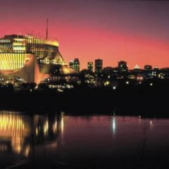 Отель Delta Centre-Ville Канада, Монреаль - отзывы, цены и фото номеров - забронировать отель Delta Centre-Ville онлайн приотельная территория