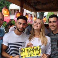 Jammin' Rimini Backpackers Hotel Римини гостиничный бар