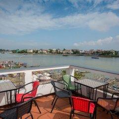 Отель Minh An Riverside Villa балкон
