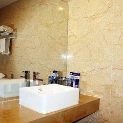 Tian Hai Chain Hotel (Jiujiang RT-Mart Jiurui Road) ванная фото 2