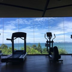 Отель Beachfront Sea View Baan Plai Haad Паттайя фитнесс-зал фото 2