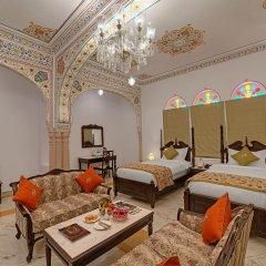 Отель The Jaibagh Palace комната для гостей