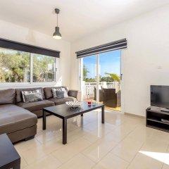 Отель Villa Atlas Кипр, Протарас - отзывы, цены и фото номеров - забронировать отель Villa Atlas онлайн комната для гостей фото 3