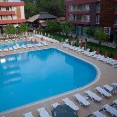 Отель Complex Zornica Residence - All Inclusive Болгария, Солнечный берег - отзывы, цены и фото номеров - забронировать отель Complex Zornica Residence - All Inclusive онлайн бассейн