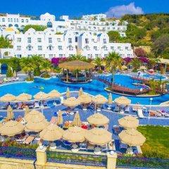 Отель Salmakis Resort & Spa пляж фото 2