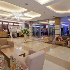 Club Mermaid Village Турция, Аланья - 1 отзыв об отеле, цены и фото номеров - забронировать отель Club Mermaid Village - All Inclusive онлайн интерьер отеля