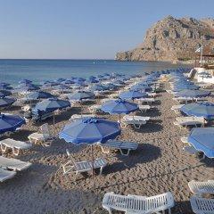Alfa Beach Hotel пляж