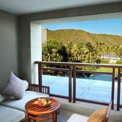 Отель Anantara Sanya Resort & Spa балкон
