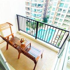 Отель G Residence Pattaya балкон