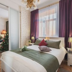 Гостиница GMApartments 4 rooms with mansard on Tverskaya комната для гостей фото 5