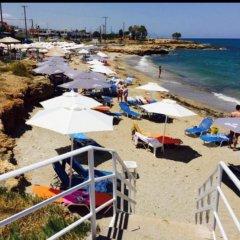 Отель Ntanelis пляж фото 2