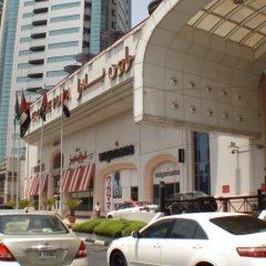 Отель Crowne Plaza Dubai парковка
