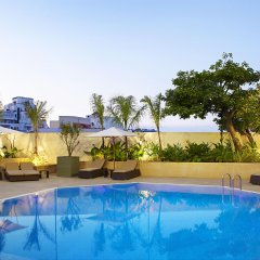 Отель Sheraton Casablanca Hotel & Towers Марокко, Касабланка - отзывы, цены и фото номеров - забронировать отель Sheraton Casablanca Hotel & Towers онлайн бассейн фото 2