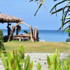 Отель Mermaid Beachfront Resort Ланта приотельная территория
