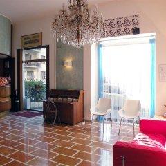 Hotel Virgilio Milano интерьер отеля