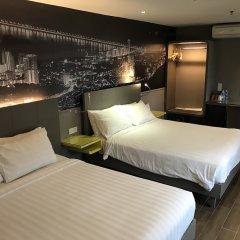 Отель GLOW Penang Малайзия, Пенанг - 1 отзыв об отеле, цены и фото номеров - забронировать отель GLOW Penang онлайн комната для гостей фото 5