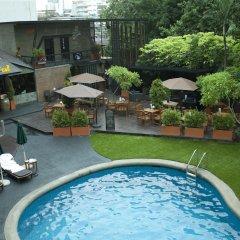 Отель The Tawana Bangkok Таиланд, Бангкок - 1 отзыв об отеле, цены и фото номеров - забронировать отель The Tawana Bangkok онлайн бассейн фото 3