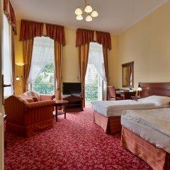 Отель Ontario Чехия, Карловы Вары - отзывы, цены и фото номеров - забронировать отель Ontario онлайн комната для гостей фото 4