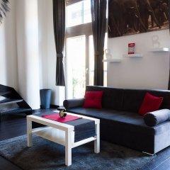 Отель Ricci Apartments Чехия, Прага - отзывы, цены и фото номеров - забронировать отель Ricci Apartments онлайн комната для гостей фото 3