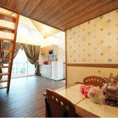 Отель Pyeongchang Sky Garden Pension Южная Корея, Пхёнчан - отзывы, цены и фото номеров - забронировать отель Pyeongchang Sky Garden Pension онлайн комната для гостей фото 2