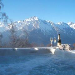 Отель Chalet Grand Loup Нендаз бассейн