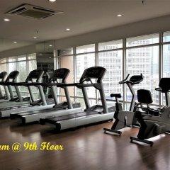 Отель Maytower Hotel & Serviced Apartment Малайзия, Куала-Лумпур - 1 отзыв об отеле, цены и фото номеров - забронировать отель Maytower Hotel & Serviced Apartment онлайн фитнесс-зал фото 2