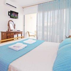 Отель Bay View Apartment Кипр, Протарас - отзывы, цены и фото номеров - забронировать отель Bay View Apartment онлайн комната для гостей фото 3