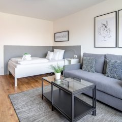 Отель StayS Apartments Германия, Нюрнберг - отзывы, цены и фото номеров - забронировать отель StayS Apartments онлайн комната для гостей фото 2