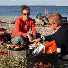 Отель Ajstrup Beach Camping & Cottages Дания, Орхус - отзывы, цены и фото номеров - забронировать отель Ajstrup Beach Camping & Cottages онлайн приотельная территория
