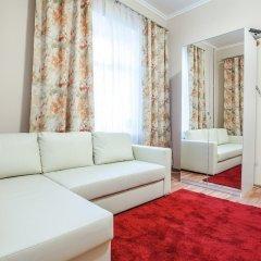 Апартаменты Two bedroom Premium Apartment Old Arbat комната для гостей фото 3