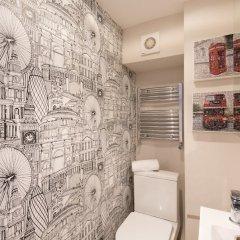 Отель Bright Family Home in Primrose Hill Великобритания, Лондон - отзывы, цены и фото номеров - забронировать отель Bright Family Home in Primrose Hill онлайн ванная