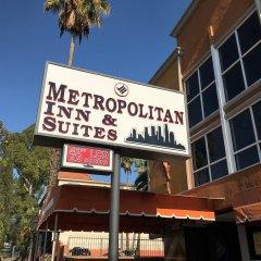 Отель Staples Center Inn Лос-Анджелес вид на фасад