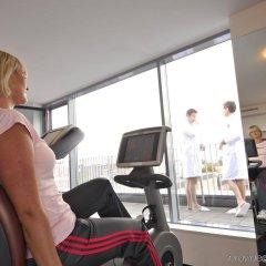 Отель Arcotel Rubin Гамбург фитнесс-зал