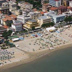 Hotel Sonne Римини пляж фото 2