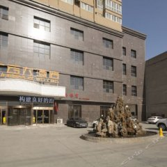 Отель Guangyun Hotel Китай, Сиань - отзывы, цены и фото номеров - забронировать отель Guangyun Hotel онлайн вид на фасад фото 2