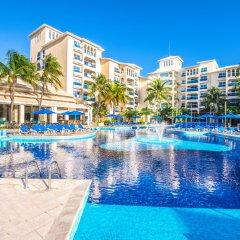Отель Occidental Costa Cancún All Inclusive Мексика, Канкун - 12 отзывов об отеле, цены и фото номеров - забронировать отель Occidental Costa Cancún All Inclusive онлайн бассейн фото 3